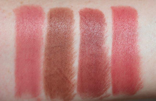 L'Oreal Matte Addiction Lipstick Swatch 633, 634, 636, 640