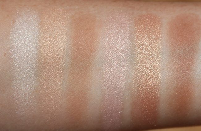 NARS Highlighting Bronzing Collection - NARS Bord de Plage Swatches