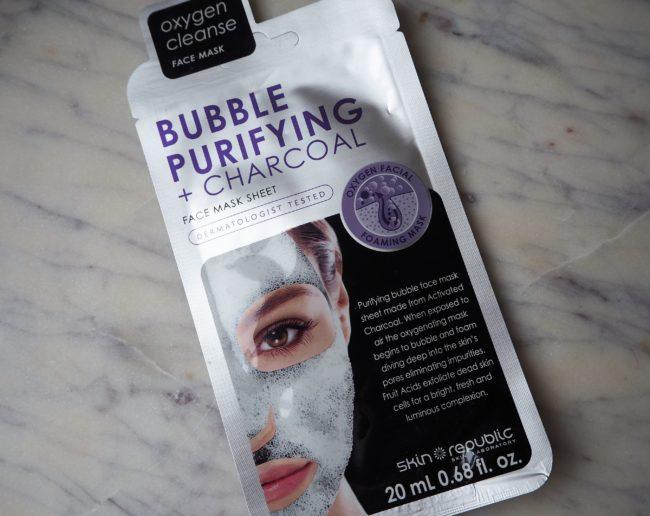 Skin Republic Bubble Purifying + Charcoal Mask