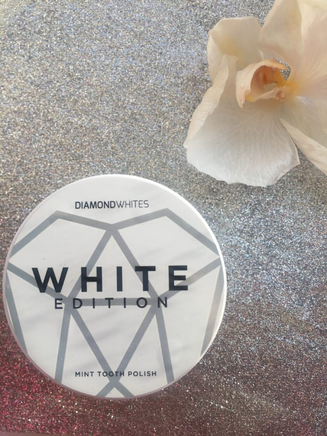 Diamond Whites Whitening Tooth Polish Packaging