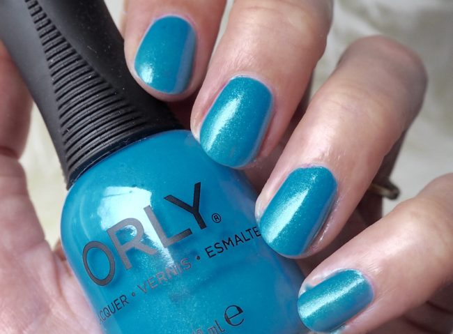 Orly Coastal Crush Collection Swatch- Sea You Soon