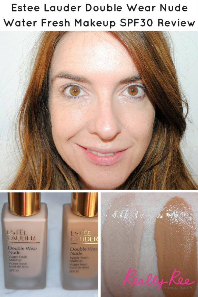 Get ready for Estee Lauder Double Wear Nude Water Fresh Makeup. If you love the coverage of DW but want a lighter more skin-like texture, this is for you! Includes Estee Lauder Double Wear Nude Water Swatches & Review