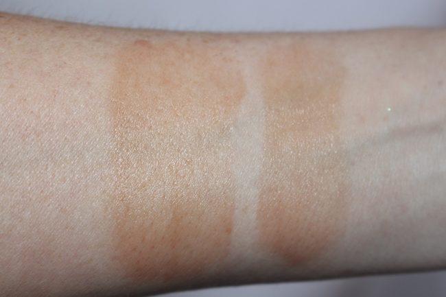 ... Estee Lauder Double Wear Radiant Bronze Cushion Stick Swatch   Light  Medium