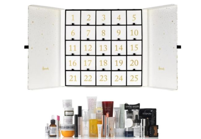 Harrods Advent Calendar 2017 Contents