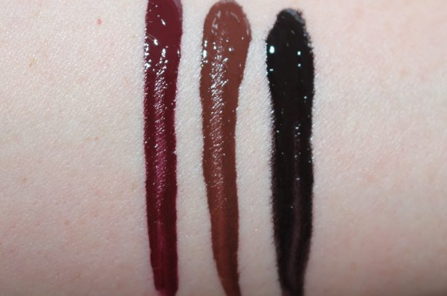 Nars powermatte lip pigment review swatches all shades for Black paint swatch