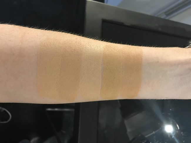 NARS Velvet Matte Foundation Stick Swatches - Medium