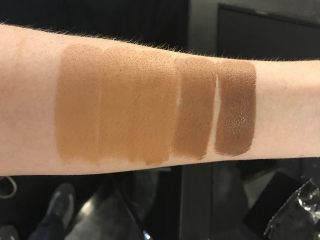 NARS Velvet Matte Foundation Stick Swatches - Medium Dark
