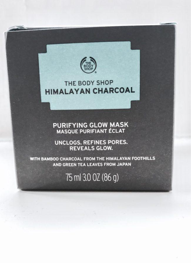 charcoal tea tree mask body shop