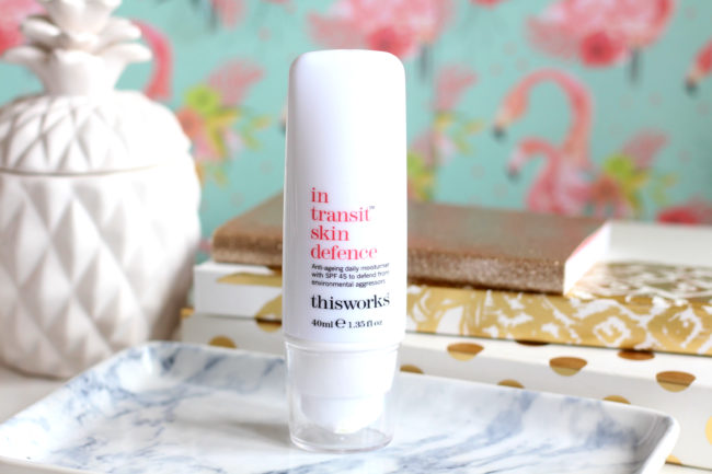 This Works In Transit Skin Defence SPF45