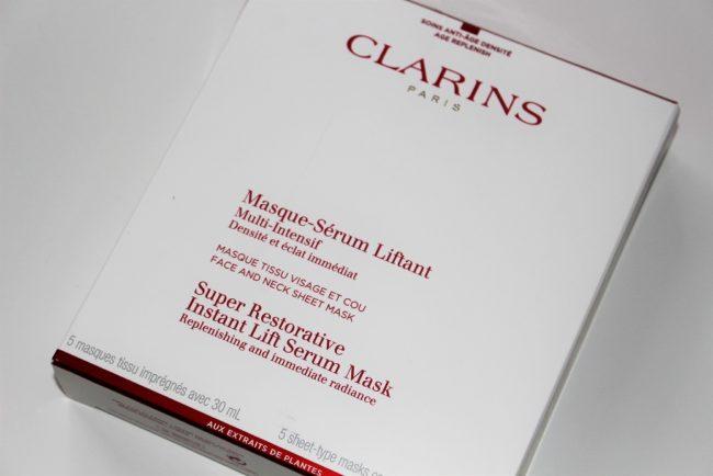 Super Restorative Instant Lift Serum Mask by Clarins #7