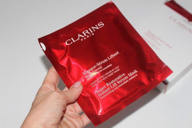 Clarins Super Restorative Instant Lift Serum Mask