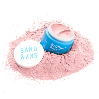 Sand Amp Sky Brilliant Skin Purifying Pink Clay Mask