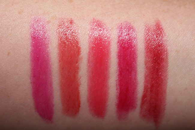 Tom Ford Boys and Girls Swatches Bianca, Grace, Sasha, Emma, Naomi
