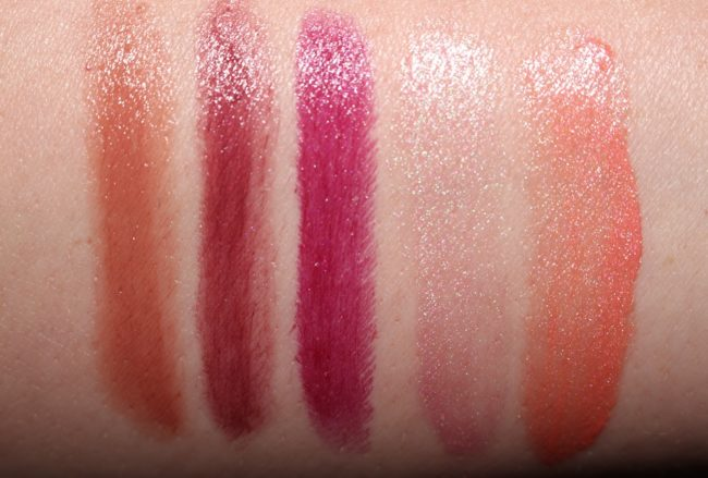 Tom Ford Boys and Girls Swatches Fabiola, Alexis, Ingrid, Marguerite, Nina