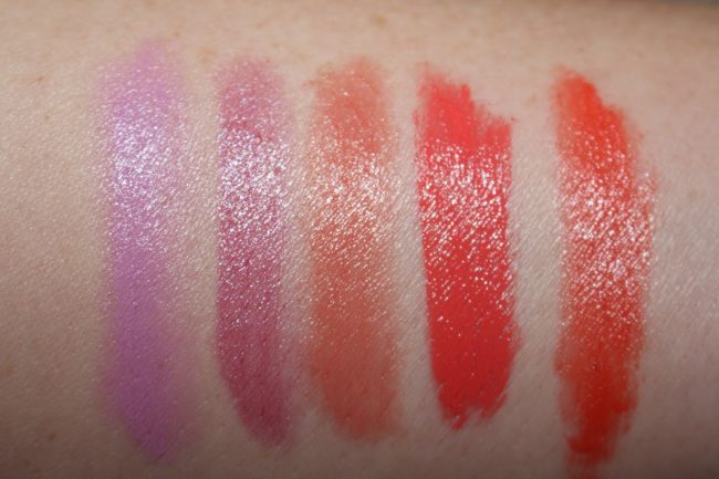 Tom Ford Boys and Girls Swatches Violet, Georgie, Isla, Anne, Mariko