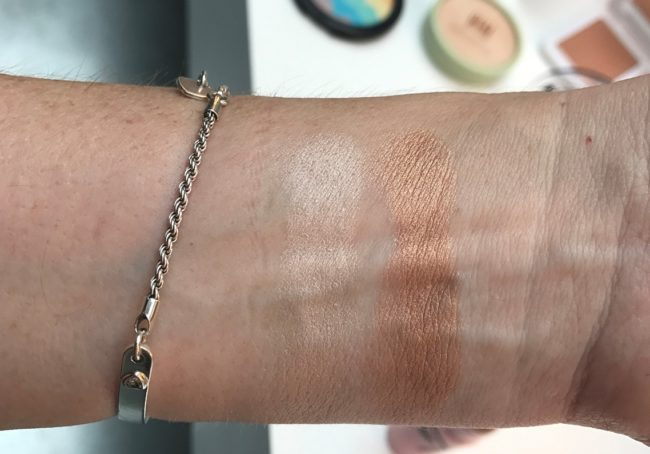 ASOS Own Brand Makeup - Highlighter Swatches