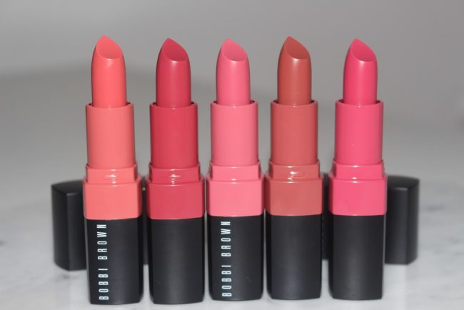 Bobbi Brown Crushed Lip Color - Angel, Babe, Baby, Bare, Bitten