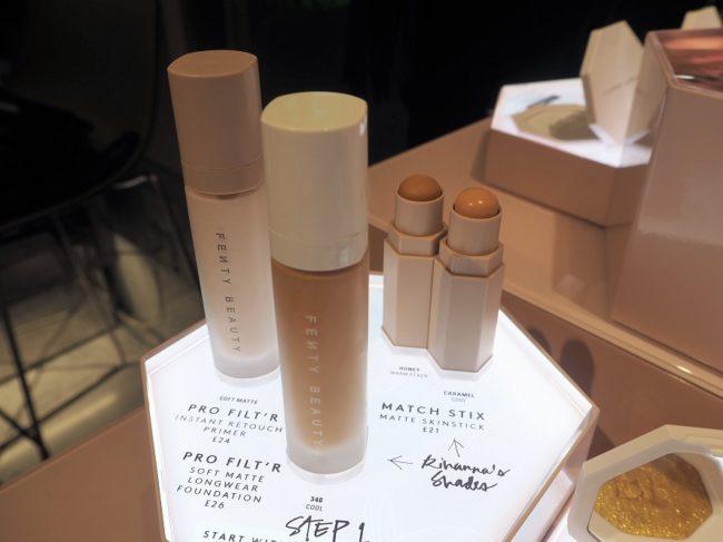Fenty Beauty By Rihanna - Pro Flit'r Instant Retouch Primer, Soft Matte Longwear Foundation, Matte Matchstix