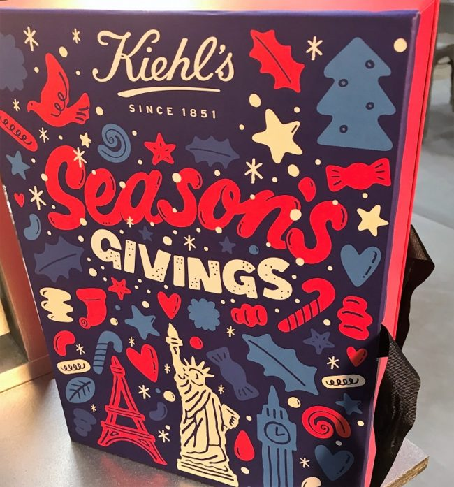 Kiehl's Beauty Advent Calendar 2017