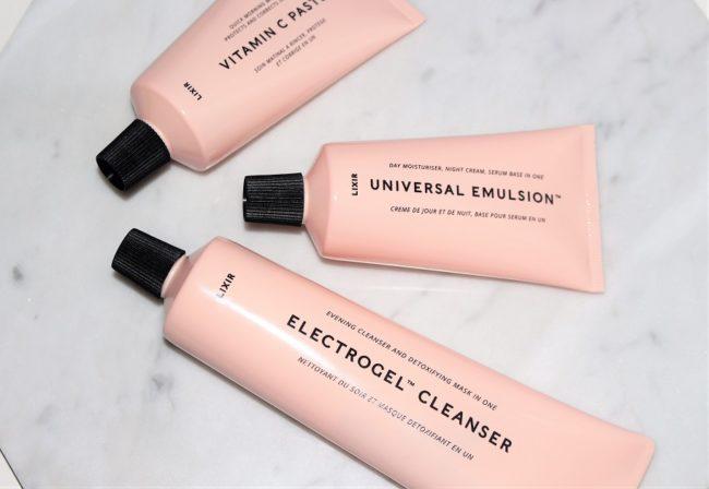 LIXIR Skincare - Vitamin C Paste, Universal Emulsion, Electrogel Cleanser
