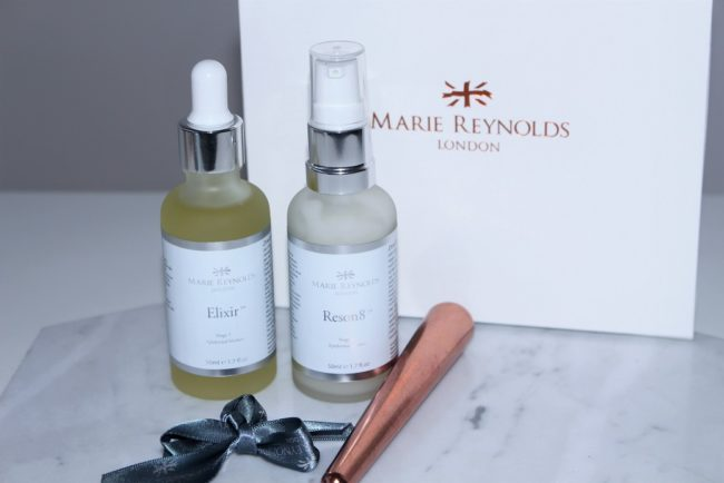 Marie Reynolds London Elixir and Reson8 - The Epidermal Blanket