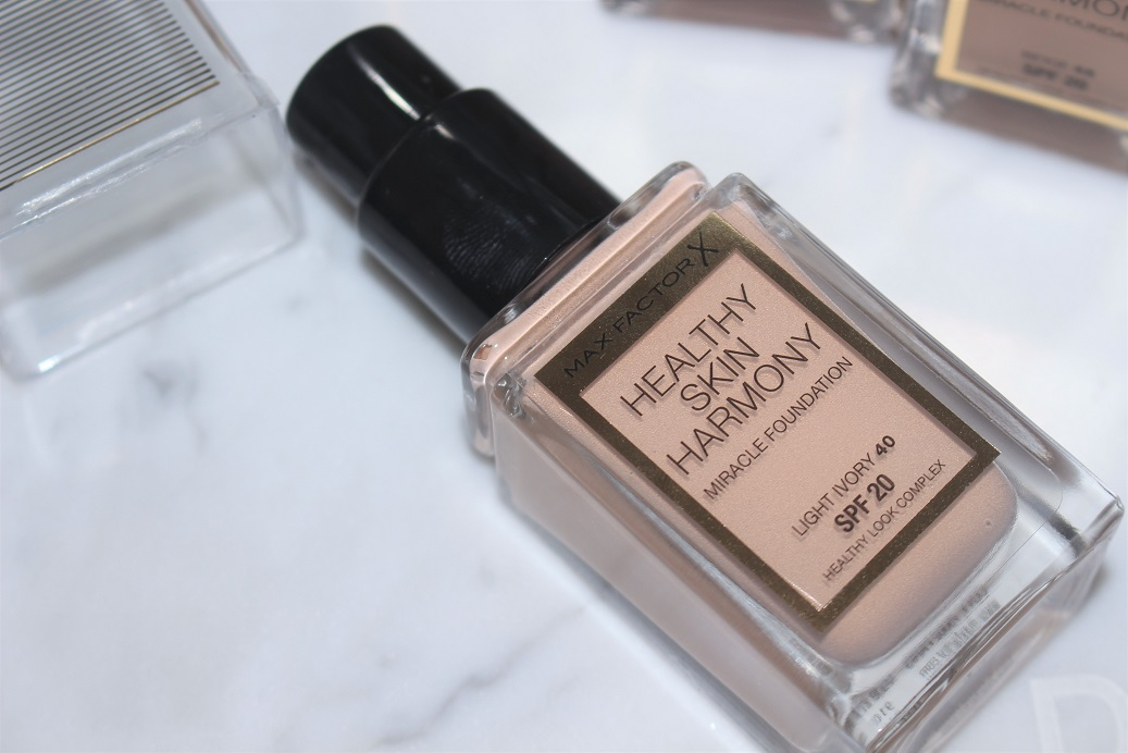 Max Factor Healthy Skin Harmony Foundation Review Amp Swatches