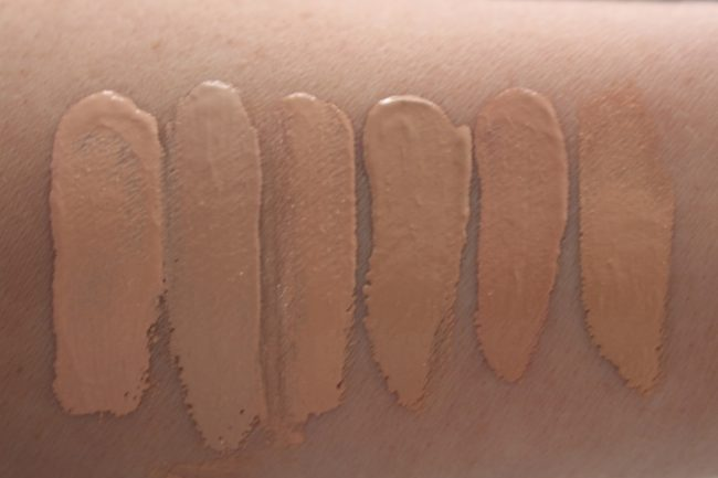 Max Factor Healthy Skin Harmony Swatches