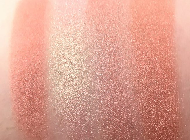 Sleek Copper Plate Highlighting Palette Swatches