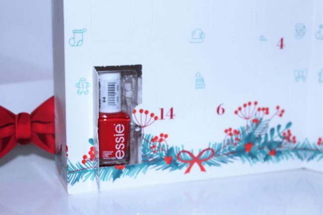 Essie Nail Polish Advent Calendar 2017 24 Day Christmas Countdown