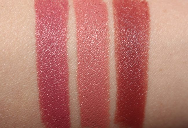 Hourglass Confession Refillable Lipstick Set - New Shade Swatches - My One Desire, True Love Means & You Are My
