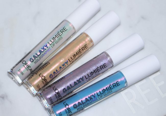 L'Oreal Paris Holographic Lip Glosses