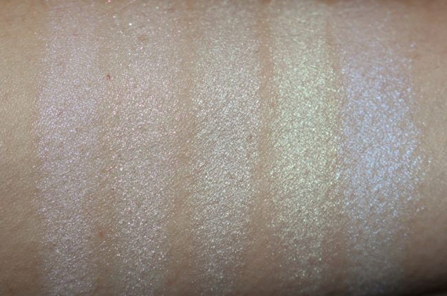 L'Oreal Paris Holographic Glow Kit Swatches