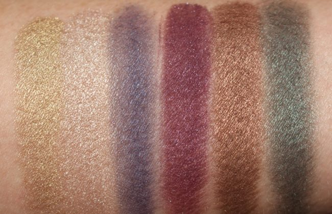 NARS Man Ray Love Game Eyeshadow Palette Swatches