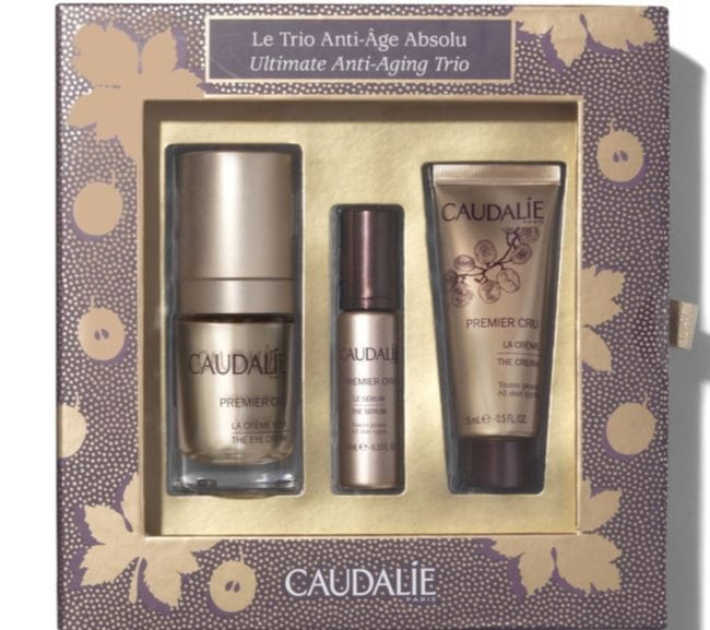 Best Christmas Beauty Gift Sets - Caudalie Ultimate Anti Ageing Trio
