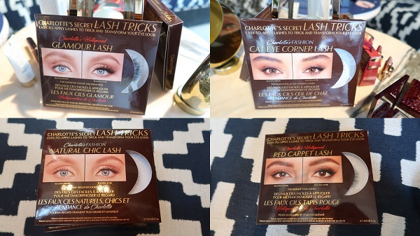 Charlotte Tilbury Lash Secrets False Lash Collection