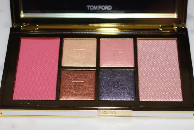 Tom Ford Soleil Winter 2018 Eye & Cheek Palette