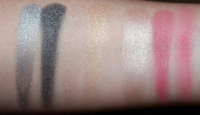 YSL Holiday 2018 Gold Attraction Palette Swatches