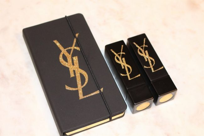 YSL Holiday 2018 Gold Attraction