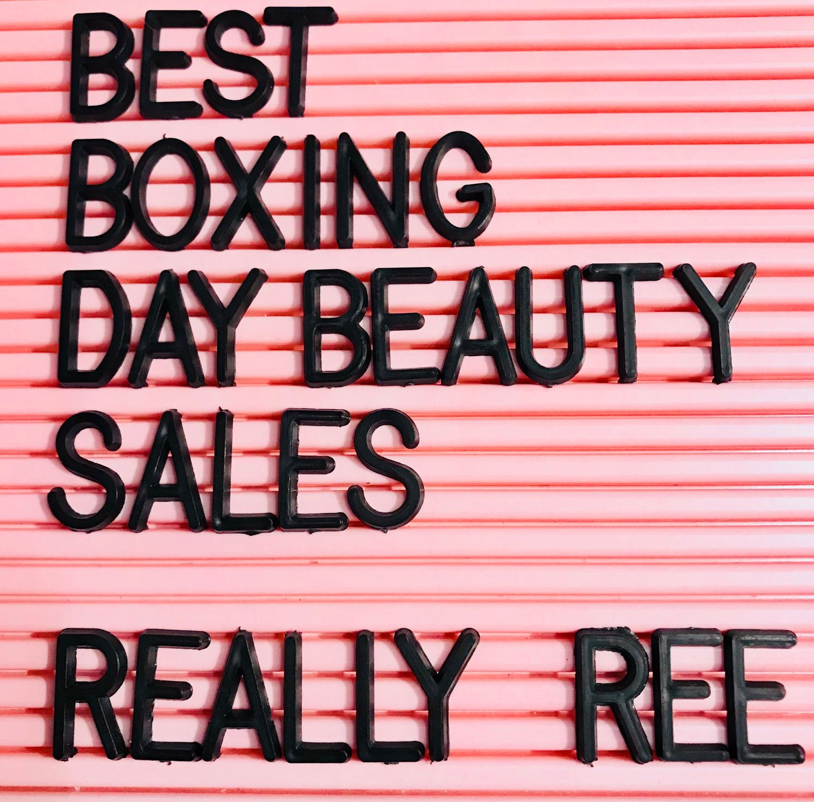best boxing day beauty sales 2017 the quick roundup. Black Bedroom Furniture Sets. Home Design Ideas