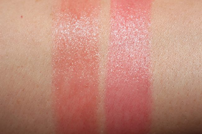 Dior Lip Glow 2018 - Coral & Ultra Pink Swatches