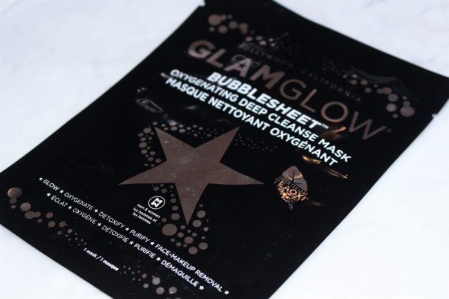 Glamglow Bubblesheet Oxygenating Deep Cleanse Mask UK