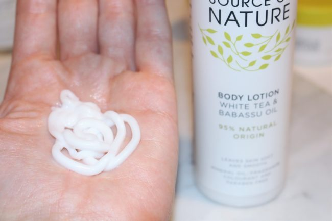 Source Of Nature Body Lotion