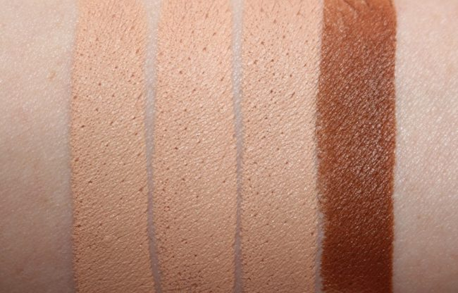 Bare Minerals BarePro 16 HR Full Coverage Concealer Swatches