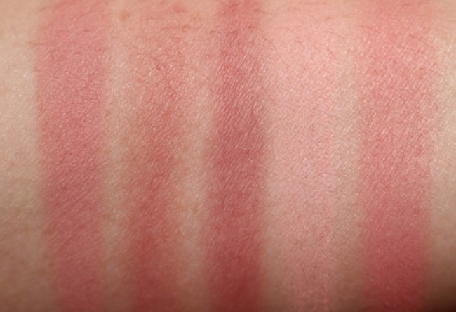 Bare Minerals Gen Nude Powder Blush - Mauves & Pinks Swatches