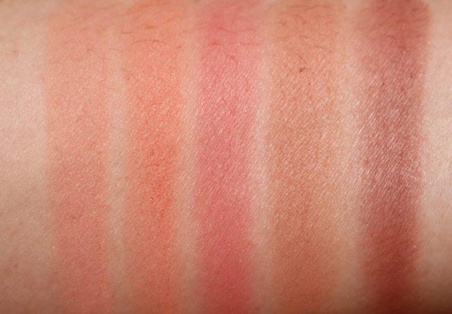 Bare Minerals Gen Nude Powder Blush - Peaches & Beiges Swatches