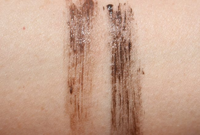 Hourglass Arch Brow Volumizing Fiber Gel Swatches