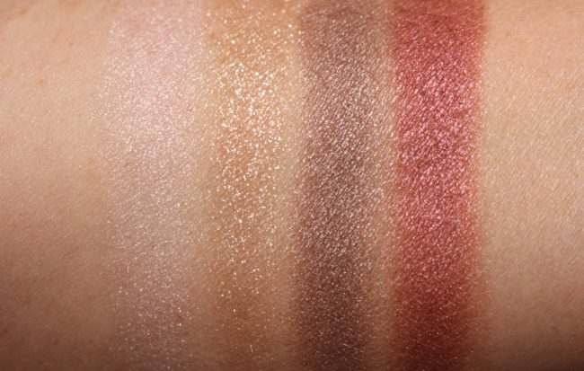 Tom Ford Soleil Eye and Cheek Palette Soleil D'Ambre Swatches - Eyes