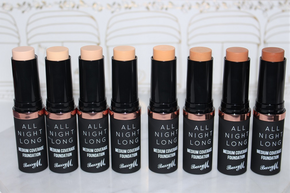 Barry M All Night Long Foundation Stick Review Amp Swatches