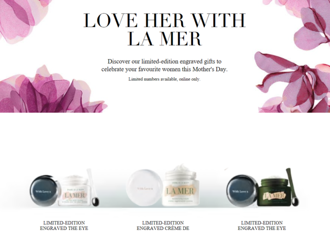 La Mer Mother's Day 2018 & Free Next Day Delivery