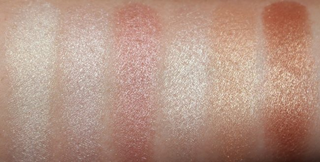 NARS Highlighting Powder Collection 2018 Swatches